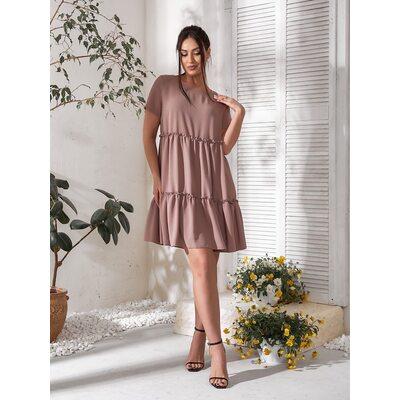 Платье летнее bb-183 капучино Производитель Одесса