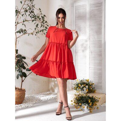 Платье летнее bb-183 красный Производитель Одесса