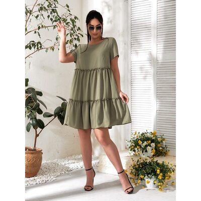 Платье летнее bb-183 хаки Производитель Одесса